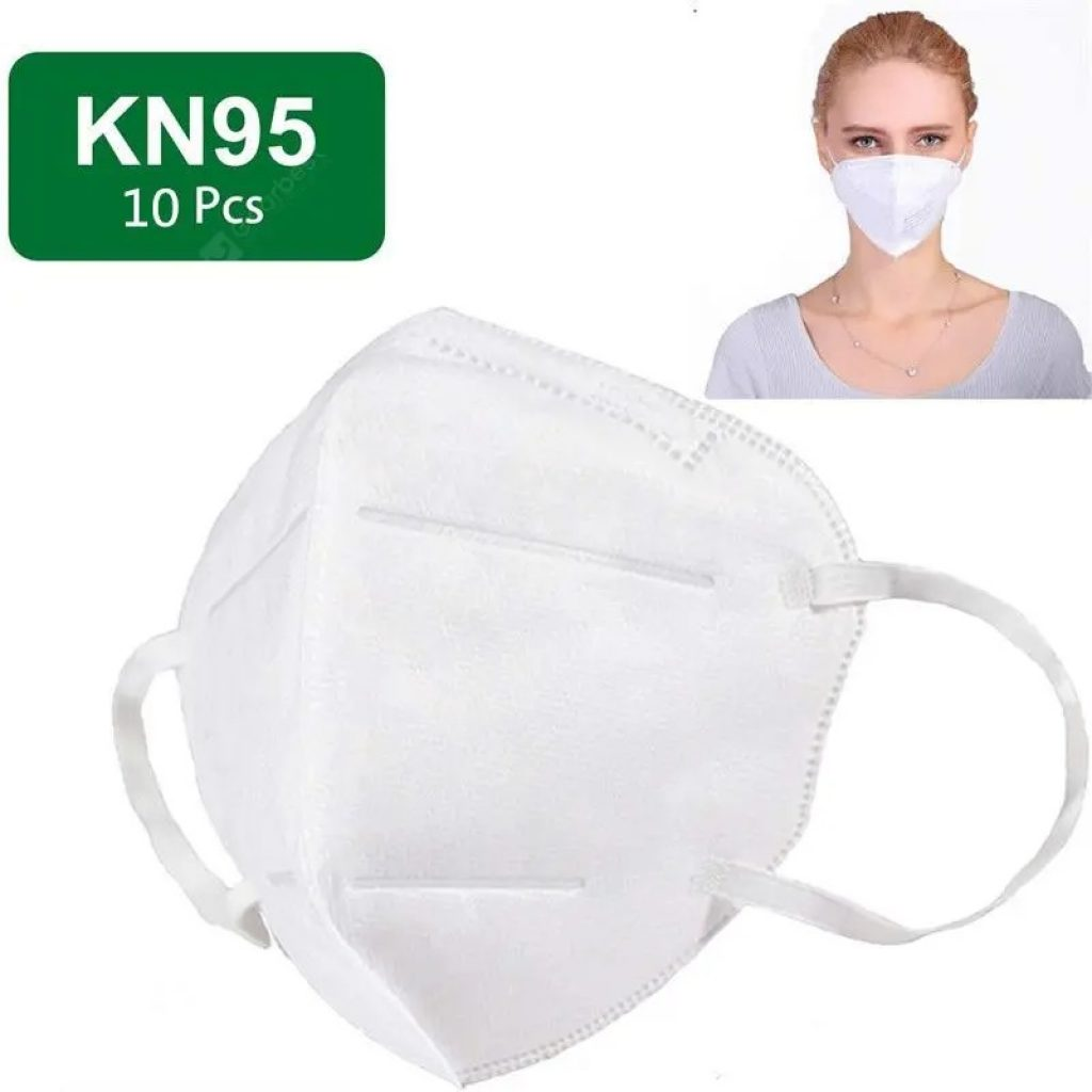 kupong, gearbest, KN95 Mask N95 Respirator 5-Ply Virus Protection