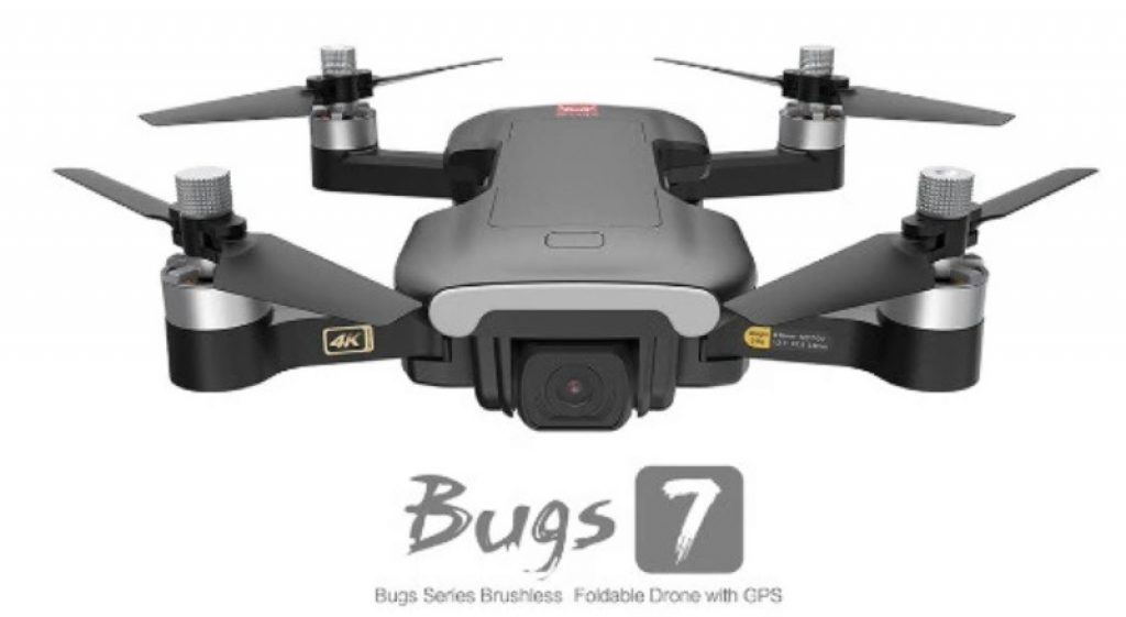 geekbuying, coupon, banggood, MJX Bugs B7 GPS With 4K 5G WIFI Camera Optical Flow Positioning Brushless Foldable RC Quadcopter