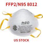 कूपन, गियरबेस्ट, एन 95 एफएफपी 2 वेलवेटेड रेस्पिरेटर डस्ट फेस मास्क फ्लू प्रोटेक्शन