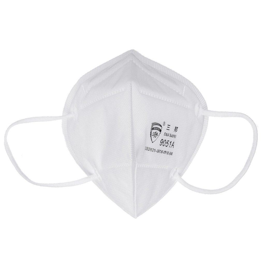 купон, бангод, Н95 ФФП3 маска 5ком 3Д заштита ПМ2.5 КН95 Респиратор за заштитну маску против прашине 4 слоја