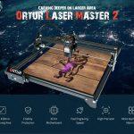 קופון, gearbest, ORTUR Master Master 2 לוח אם 32 סיביות מכונת חריטת לייזר 15W