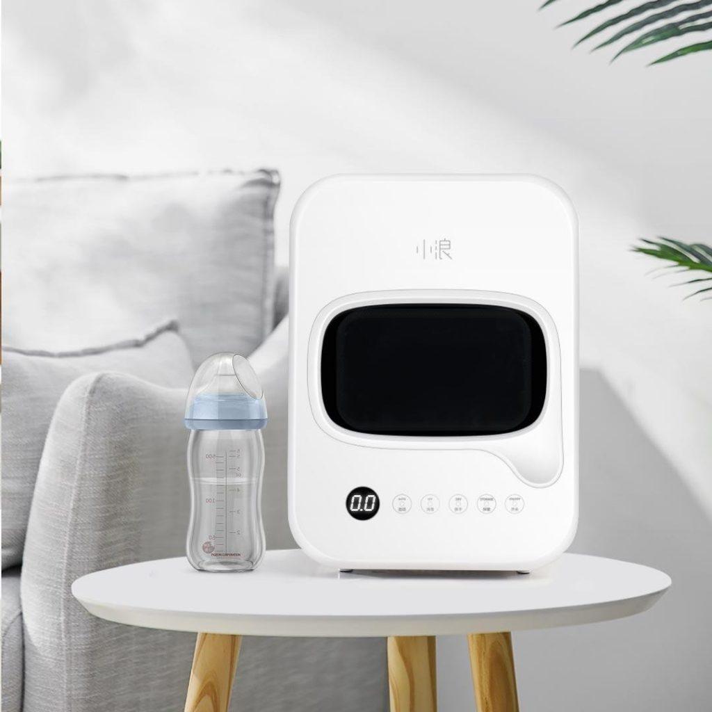 kupon, šiška, Smartda HD-ZMXDJ01 posuda za bebe stolni pribor za četkice za zube, sterilizator, Xiaomi Youpin prijenosni ormar za dezinfekciju radne površine, UV zračenje, ozon lampa