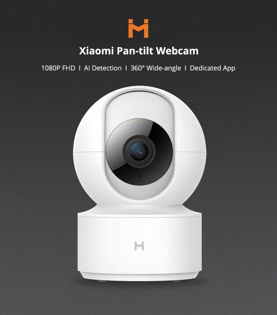 κουπόνι, banggood, XIAOMI Mijia IMILAB H.265 1080P 360 ° νυχτερινή έκδοση Smart AI IP κάμερα