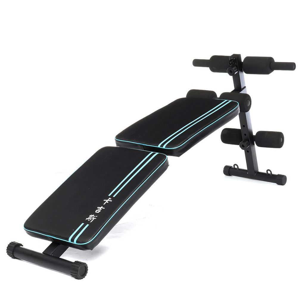 coupon, banggood, XMUND Double Folding Ab Sit-ups Abdominal Muscle Trainer Board Exercise Tools Adjustable Home Gym Fitness Equipment