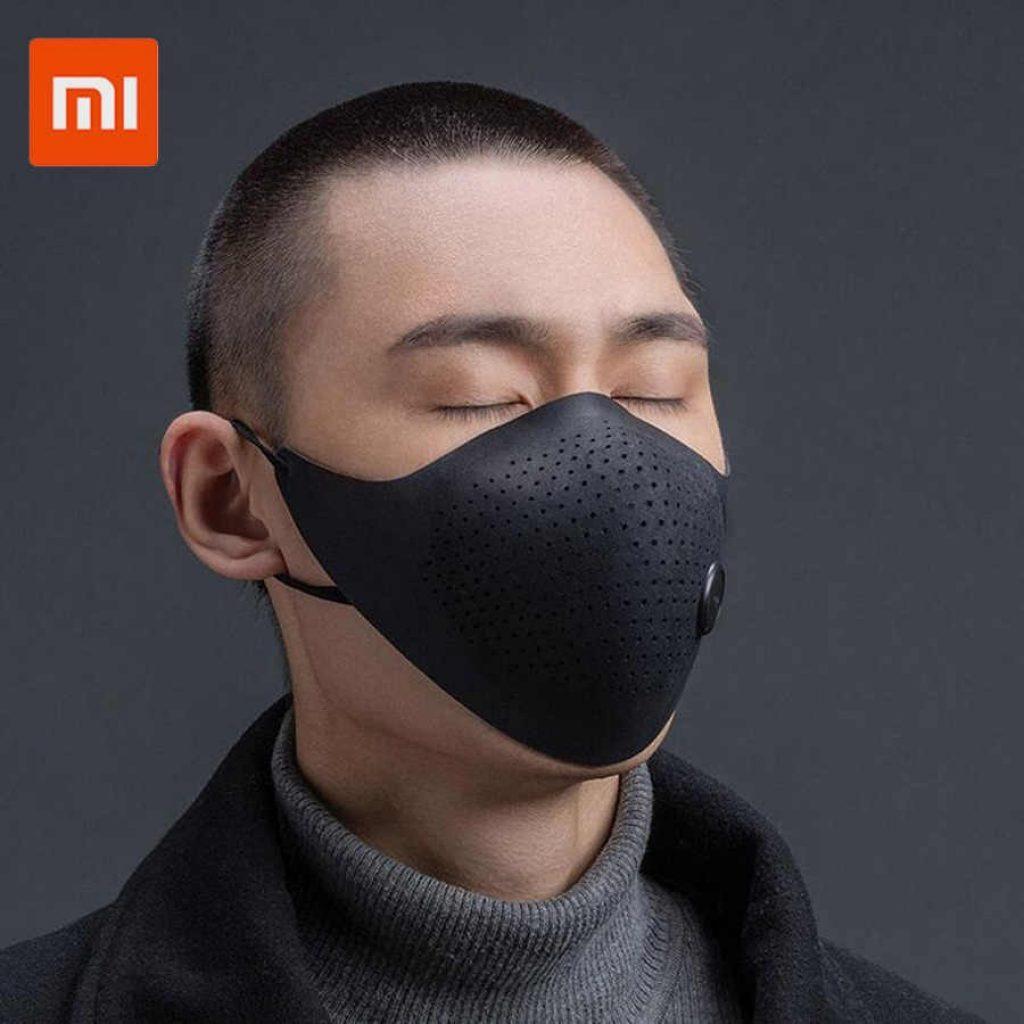 쿠폰, Banggood, Xiaomi Mijia AirPOP Light 360 ° PM2.5 안개 방지 얼굴 마스크 피부 친화적 인 소재 항균