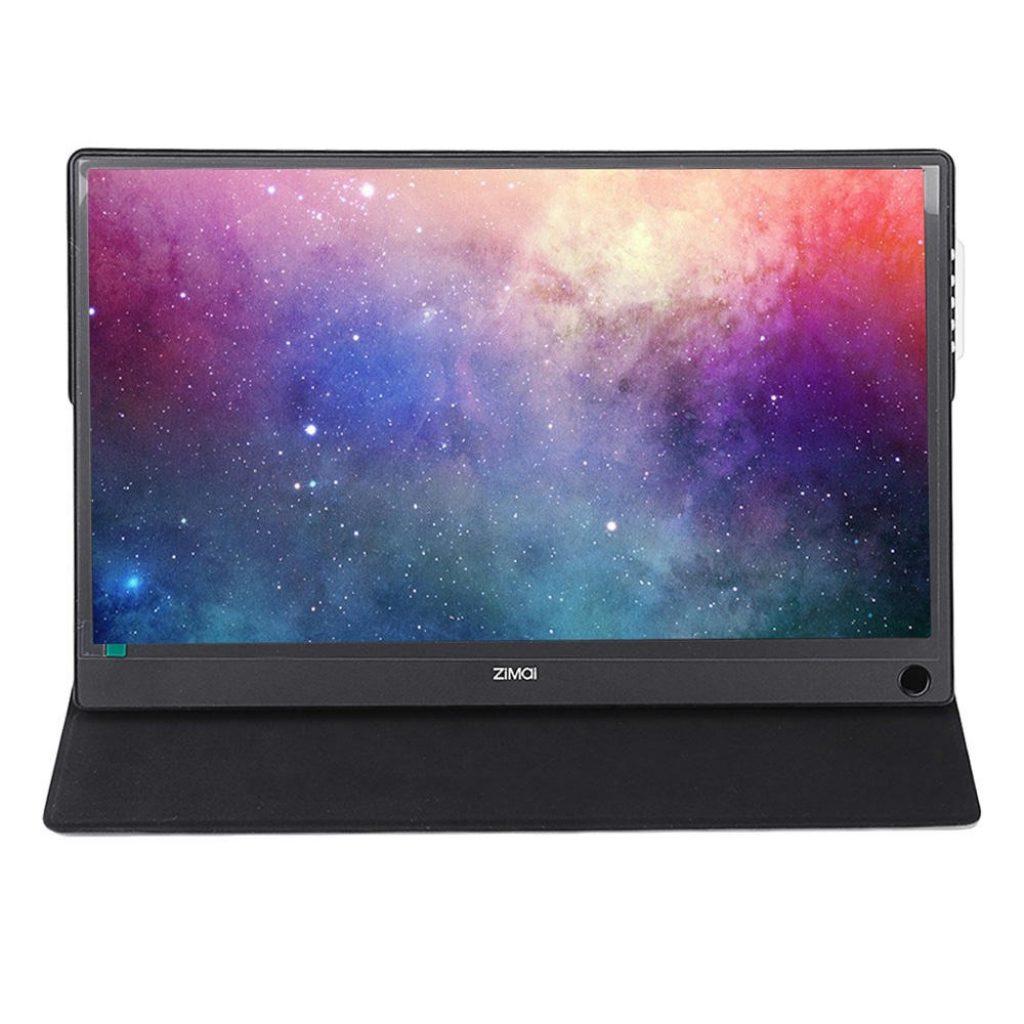 कूपन, धमाकेदार, ZiMai A13Pro 13.3 इंच पोर्टेबल गेमिंग कंप्यूटर मॉनिटर शाफ़्ट 2K एलसीडी स्क्रीन USB C टैबलेट टैबलेट के लिए डिस्प्ले