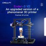 Tomtop, Gutschein, Banggood, Creality 3D® Ender-3 V2 Verbesserter DIY 3D-Drucker
