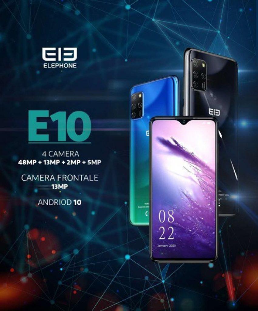 קופון, בנגדו, טלפון סלולרי ELEPHONE E10