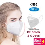 쿠폰, gearbest, 효과적으로 차단 먼지 마스크 KN95 여과 스플래시 PM2.5 CE 인증 편안한