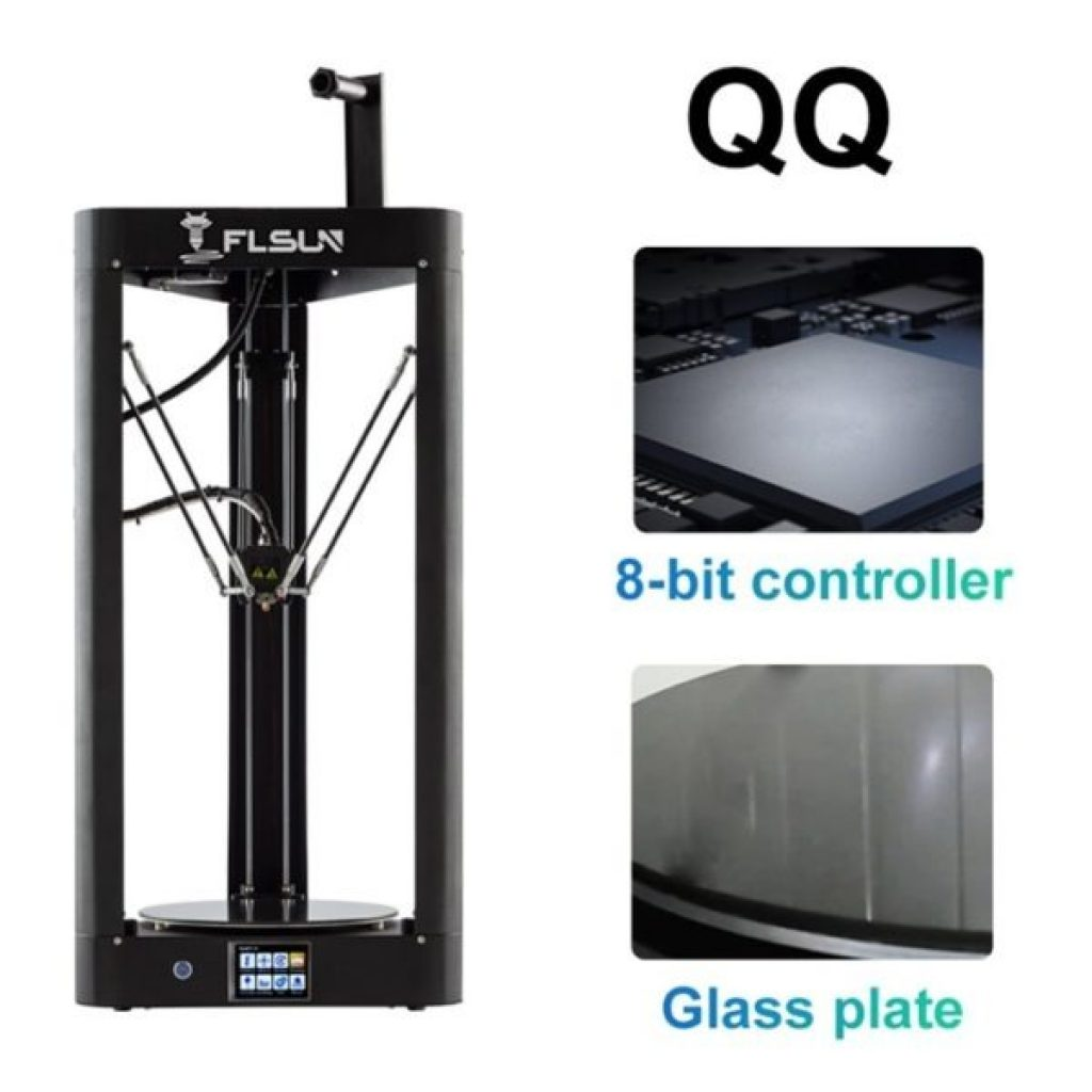 coupon, gearbest, Flsun QQ S Delta Kossel Auto-Level Upgraded Resume Pre-assembly 3D Printer