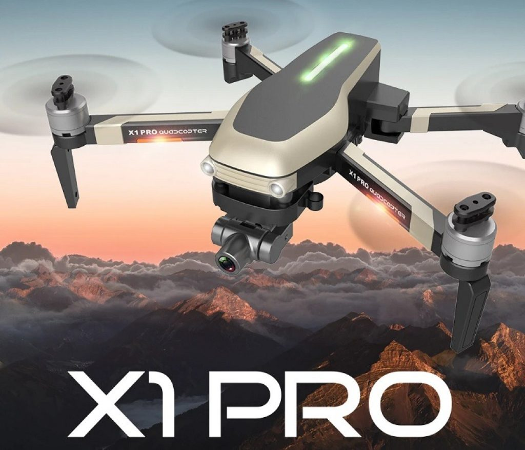 coupon, banggood, Funsky X1 Pro 5G WIFI RC Quadcopter