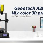 القسيمة ، Banggood ، طابعة Geeetech® A20M Mix-color 3D