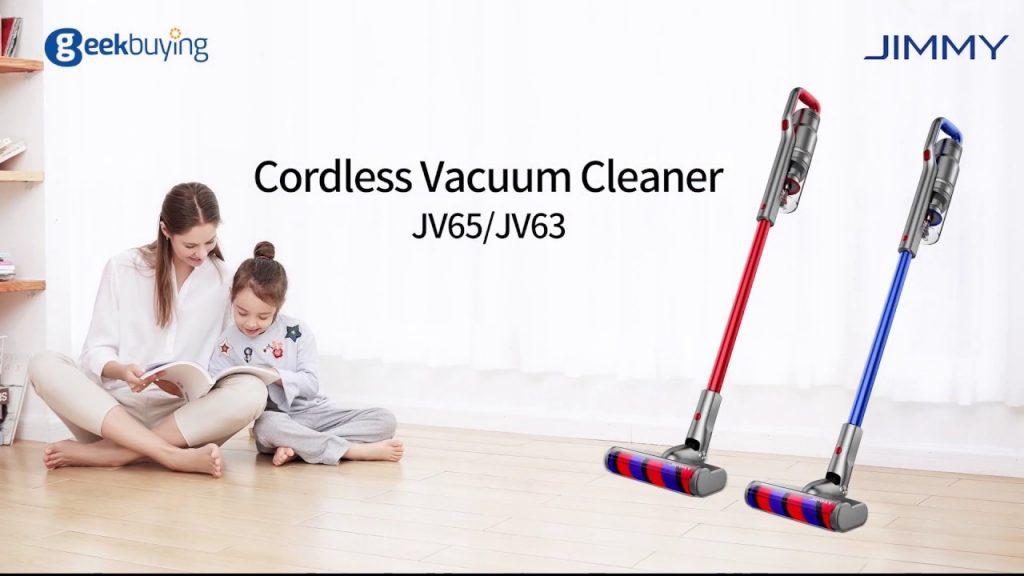 geekbuying, coupon, banggood, JIMMY JV65 Handheld Cordless Stick Vacuum Cleaner