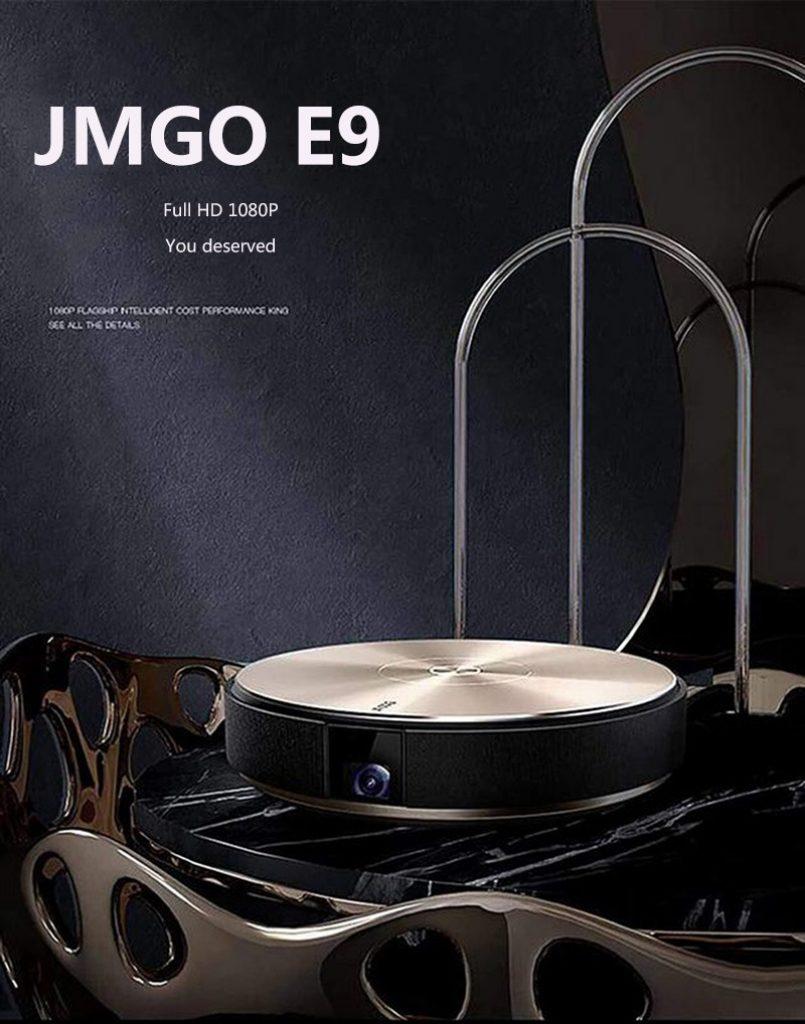 kupon, banggood, JmGO E9 Full HD 1080P 3D 4K 900 ANSI Lumens 2GB + 16GB Proyektor Mini