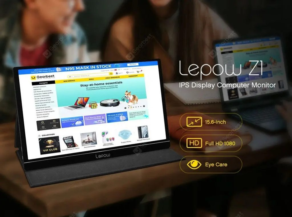 kupon, mjenjač, Lepow Z1 15.6-inčni monitor računala