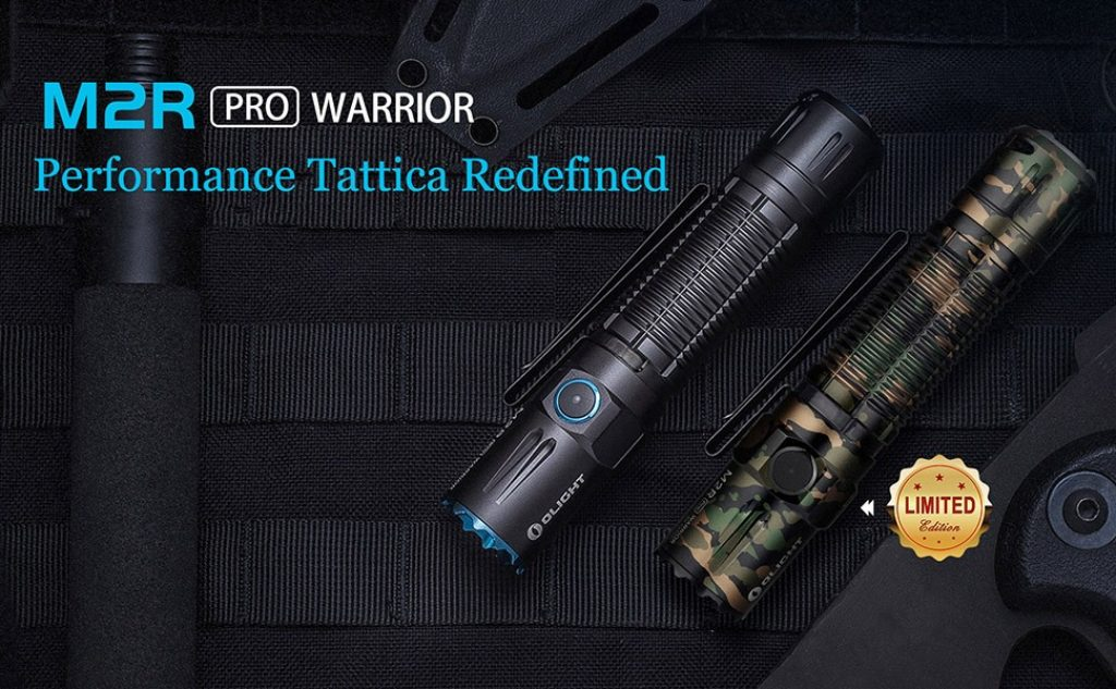 קופון, פנס OLIGHT torcia M2r Pro Warrior