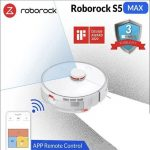 gogobest, coupon, geARBEST, Roborock S5 Max Xiaomi Robot Vacuum Cleaner for Home Smart Sweeping Robotic Cleaning Mope