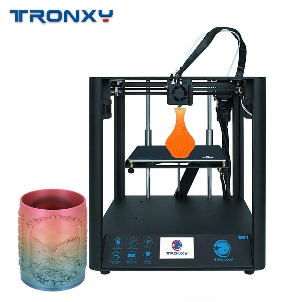 coupon, tomtop, Tronxy D01 High Precision 3D Printer