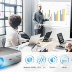 kupón, geekbuying, VIVIBRIGHT F40 Native 1080P LED projektor