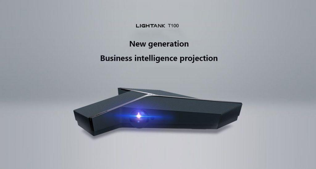 kupon, banggood, XGIMI LIGHTANK T100 Home Bussiness Projector