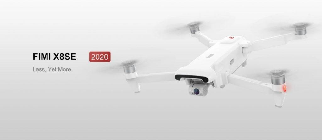kupon, banggood, Xiaomi FIMI X8 SE 2020 RC Drone Quadcopter