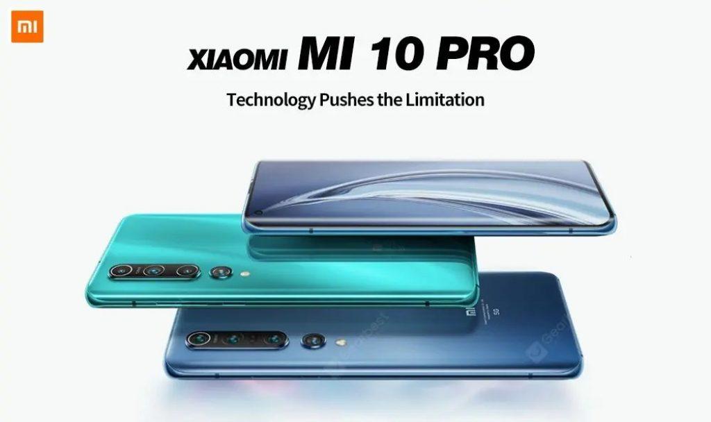クーポン、gearbest、Xiaomi Mi 10 Proスマートフォン