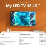 tomtop, banggood, kupon, geekbuying, Xiaomi Mi TV 4S 43 4K Smart TV