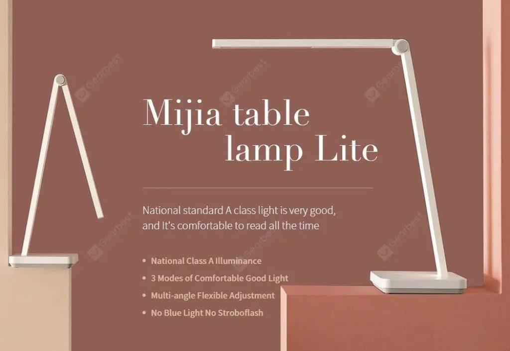 kupong, banggood, Xiaomi Mijia 9290023019 Justerbar skrivebordslampe