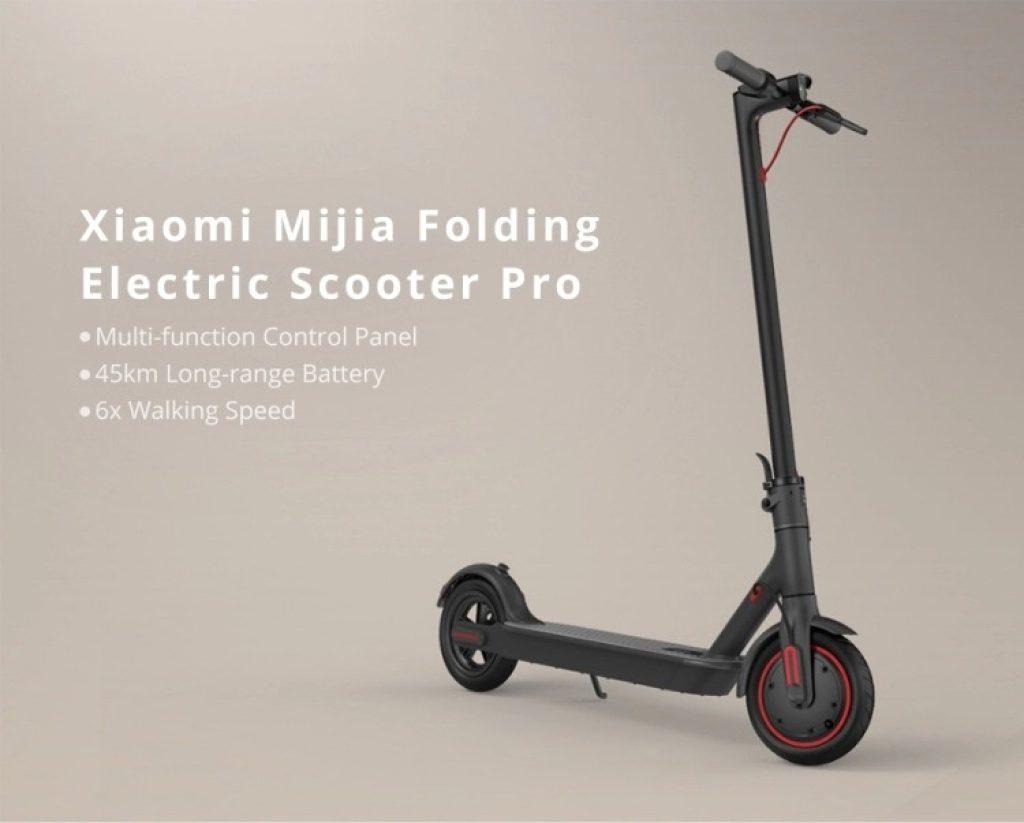 gshopper, kupon, geekbuying, Xiaomi Mijia M365 Pro Katlanır Elektrikli Scooter