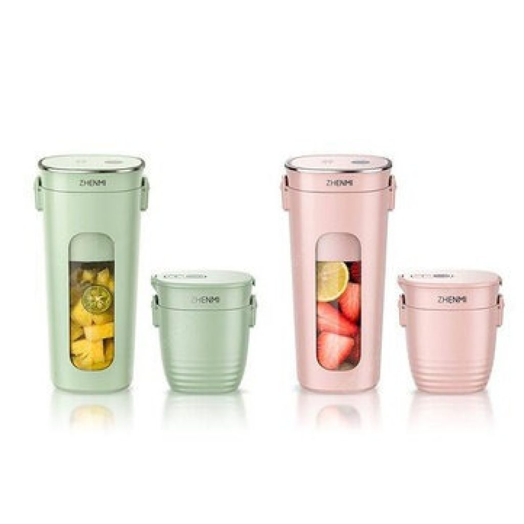 coupon, banggood, ZHENMI Mini Wireless Vacuum Portable Juicer Cup Blender from Xiaomi Youpin USB Charging Vacuum Preservation