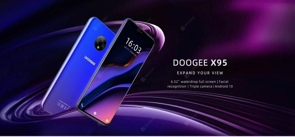 coupon, gearbest, DOOGEE X95 Smartphone