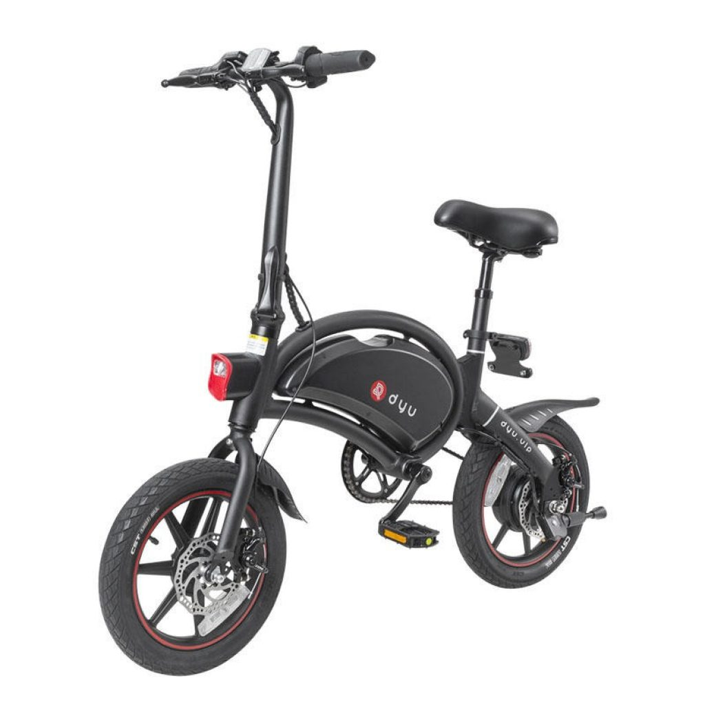 coupon, geekbuying, DYU D3+ Folding Moped Electric Bike