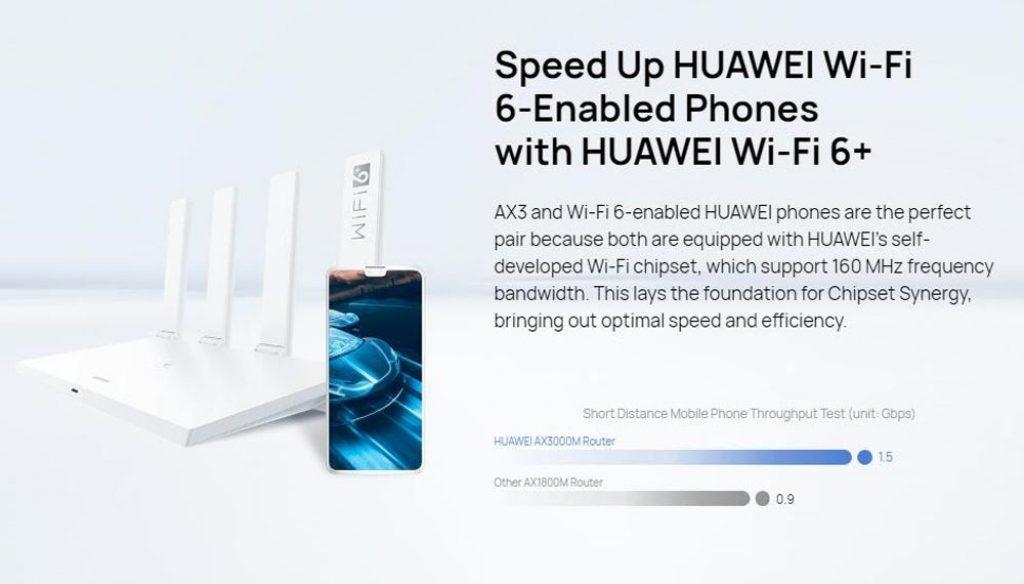 kupon, banggood, HUAWEI WiFi AX3 Quad-core Wi-Fi 6+ Router Nirkabel 3000Mbps Huawei Bagikan HarmonyOS WiFi Router