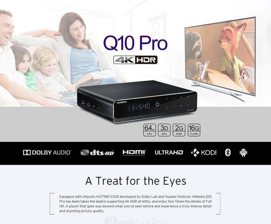 kupon, geekbuying, Himedia Q10 Pro Media Player
