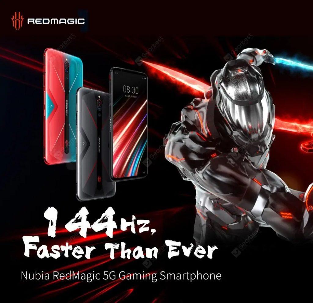 geekbuying, coupon, gearbest, NUBIA RedMagic 5G Gaming Smartphone