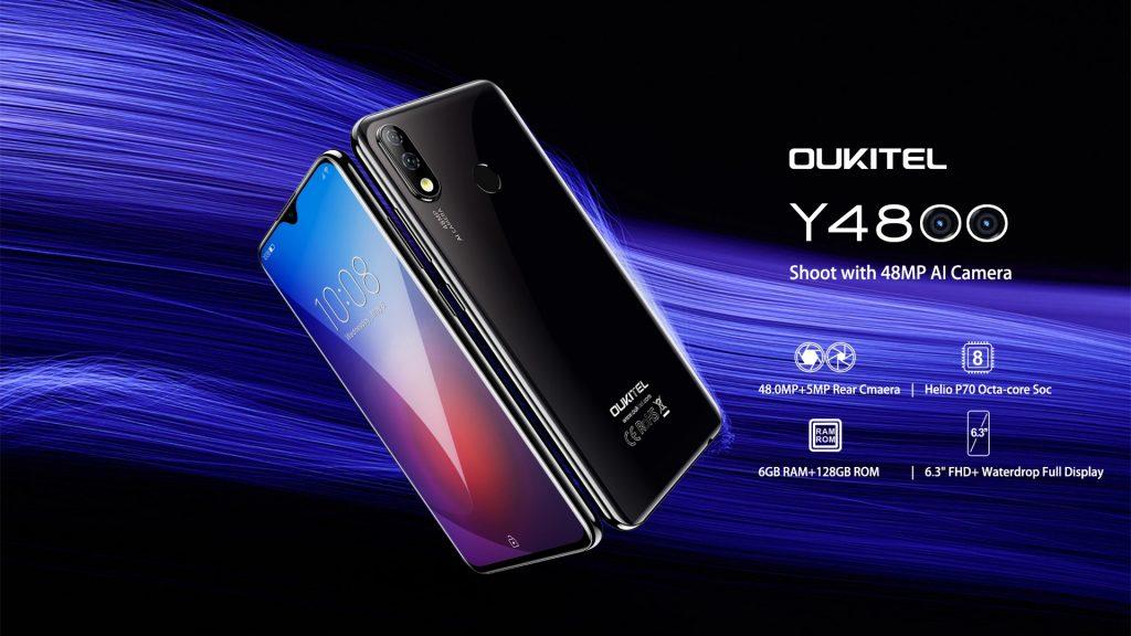 कूपन, धमाकेदार, OUKITEL Y4800 स्मार्टफोन