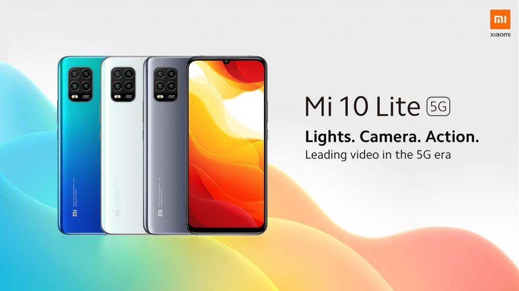 náramek, kupón, geekbuying, Xiaomi-Mi-10-Lite-5G-Smartphone