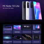 bangood, קופון, Xiaomi Mi Note 10 Lite Smartphone