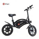 bangood, geekbuying, 쿠폰, gearbest, dyu-D3F-Electric-Bike-36V-10AH-Battery-Portable-Folding-Electric-Moped-Bicycle