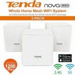 coupon, geekbuying, TENDA-MW3-Mesh-2.4GHz-5GHz-WiFi-Router