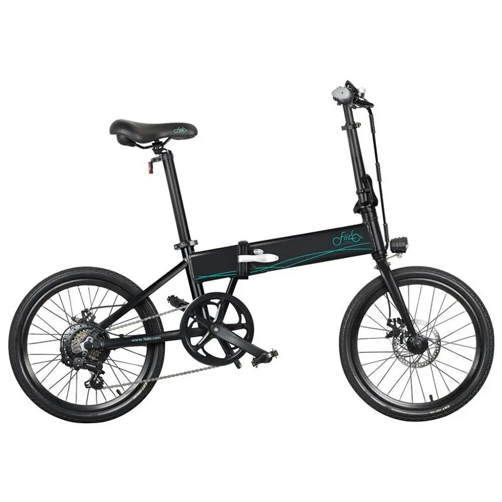 geekbuying, kupong, banggood, FIIDO-D4s-Folding-Moped-Bicycle