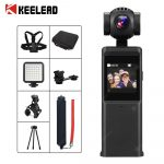 coupon, gearbest, KEELEAD-P6A-3-Axis-4K-HD-Pocket-Handheld-Gimbal-Camera-Stabilizer