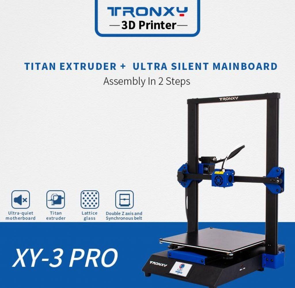 banggood, coupon, geekbuying, Tronxy-XY-3-Pro-3D-Printer