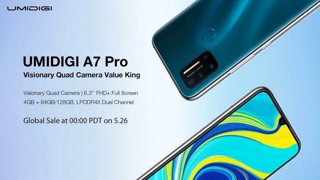 κουπόνι, banggood, UMIDIGI-A7-Pro-Smartphone