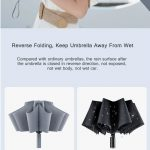 κουπόνι, banggood, 90Fun-8K-Automatic-Reverse-Folding-Umbrella