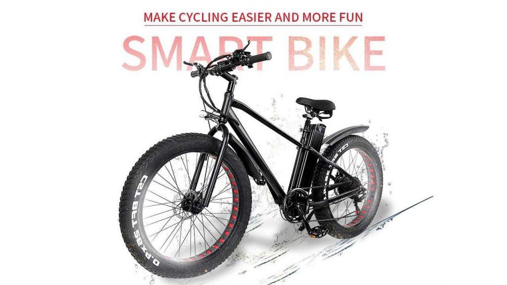 banggood, geekbuying, coupon, gearbest, CMACEWHEEL-KS26-Inch-Variable-Speed-E-bike