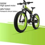 banggood, coupon, geekbuying, LANKELEISI-XT750-Plus-Folding-Electric-Bike-Bicycle