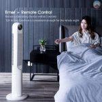 κουπόνι, banggood, αφαιρούμενο-πλένεται-βάθρο-Bladeless-Tower-Fan-45W-from-Xiaomi-Youpin