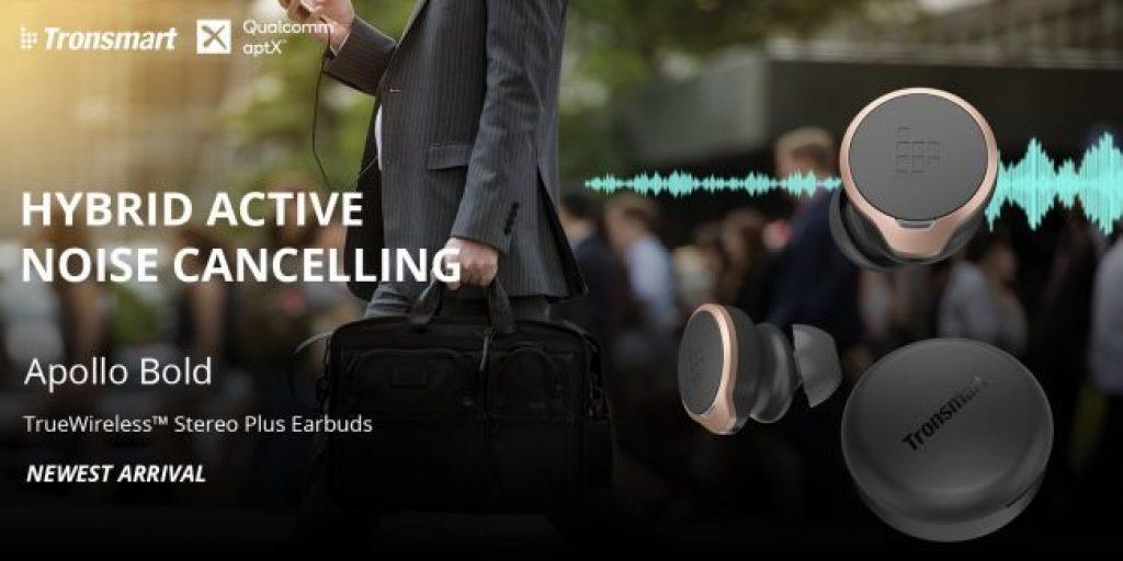 kupon, geekbuying, Tronsmart-Apollo-Bold-ANC-TWS-Earbuds