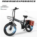 banggood, kupon, geekbuying, CMACEWHEEL-GW20-Katlanır-Elektrikli-Moped-Bisiklet